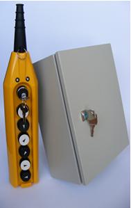Система дистанционного управления кранами на кнопках
